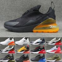 chaussures de cyclisme orange bleu achat en gros de-nike air max 270 270s 27c airmax 2019 TN Coussin casual sneakers casual Sports Cyclisme Chaussures de course entraîneur des hommes Road Star BHM fer Sneakers Taille 36-45 QA62