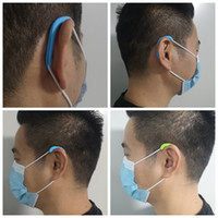 50pairs Universal Adult Child Mask Artifact Silicon Pain-Resistant Earmuffs Comfortable Reusable Ear Hook Protector Ear Muffs Protection