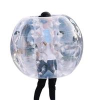 parachoques inflable del cuerpo al por mayor-inflables de sumo bola de amigos calcomanías de parachoques inflable humanos bolas bolas de burbujas burbuja de fútbol Humano cuerpo inflable de Zorb pegatina de bolas
