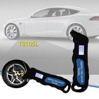 Wholesale tire gauge pressure for sale - Group buy General Multifunctional LCD Screen Display Digital Tire Pressure Gauge Portable Tire Pressure Gauge Meter for Car with Backlight