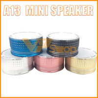 Wholesale altavoz radio for sale - Group buy A13 Mini Portable Metal Steel Bluetooth Speaker Radio FM Woofer Bass Sound Box Altavoz Portatil Bluetooth Cloth Portable Speakers