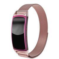 samsung galaxy gang fit großhandel-Neue Uhrenarmbänder Edelstahl Mesh Milanese Magnetic Loop Armband für Samsung Galaxy Gear fit 2 SM-R360