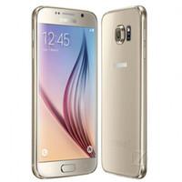 células desbloqueadas gsm venda por atacado-Original 5.1 polegadas Samsung Galaxy S6 G925F 4G GSM Octa Núcleo 3 GB / 32 GB Desbloqueado Celular Remodelado Navio Livre