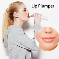 Wholesale sexy plump lips resale online - Electric Silica Gel Lip Plumper Fuller Bigger Thicker Lips Beauty Women Sexy Lips Makeup Tool USB Rechargeable