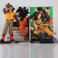modelo de bola de água venda por atacado-Dragon Ball Z Action Figure água potável Son Goku Yamcha Scultures Big PVC Action Figure Modelo Toy Boneca Y191105