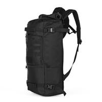 водостойкие палатки для кемпинга оптовых-60L Открытый Тактический рюкзак Водонепроницаемая сумка на плечо для кемпинга Туризм