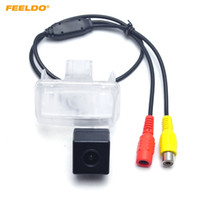 Wholesale camera for toyota corolla resale online - FEELDO Car CCD Rearview Camera For Toyota Corolla Altis Yaris Verso Camry XV50 Highlander Fortuner Parking Reversing Backup Camera