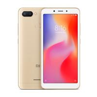 18 hd großhandel-3GB 32GB Xiaomi Redmi 6 Fingerabdruck 4G LTE Octa Core Helio P22 5.45