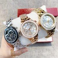 ingrosso orologio d'oro femminile-orologio donne calde di vendita è aumentato in acciaio Golden Top di lusso di qualità orologi da polso al quarzo casual vestito femminile orologi orologio signora orologi dropshipping