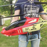 Wholesale remote control metal helicopter toy for sale - Group buy Oversize Remote Control Aircraft Charge Throw Resistance Aerocraft Uav Children Outdoors Toys Adult Helicopter Boy