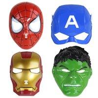 fantasias dos super-heróis venda por atacado-Marvel Superhero Costumes Máscara Unisex E Tamanho Livre Todos Os Dias Máscara Clássico Grande Herói Sem Máscara De Pantera