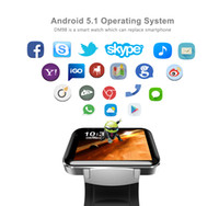 Wholesale mtk watch phone for sale – best Smart watch DM98 Smart Watch Android inch Big Screen MTK Dual Core G mAh with WIFI G GPS Smartwatch PK I5s S3