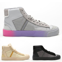 Wholesale mid skate resale online - Mens Blazer Mid Grim Reaper Sneakers Men s All Hallows Eve Skateboard Boot Womens Reepers Skate Boots Women s The Queen Sports Shoes Sport