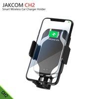 araba tutacağı şarj cihazı toptan satış-JAKCOM CH2 Akıllı Kablosuz Araç Şarj Montaj Tutucu Sıcak Satış Cep Telefonu Şarj Olarak v11 android aşınma araba tutucu