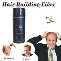 siyah saçlı anime toptan satış-TPK keratin saç elyaf 27.5g siyah saç inşa fiber inceltme saç dökülmesi kapatıcı tam anında güzellik salonu ürünleri yapmak