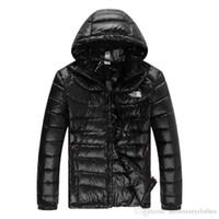 Wholesale mens slim fit down coat for sale - Group buy NF Mens Brand Winter Designer Down Parkas Fashion Solid Color Warm Slim Fit Down Jackets Coats
