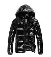 chaqueta de plumas para hombre al por mayor-2019 productos de alta NUEVOS hombres chaqueta abajo abajo cubre al aire libre para hombre caliente grueso pluma capa del hombre del invierno