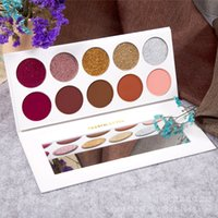 Wholesale beauty cosmetics logos for sale - Group buy new Eye shadow with no logo palette eyeshadow makeup Ultra Pigmented Glitter Shadows Shimmer Beauty cleof cosmetics