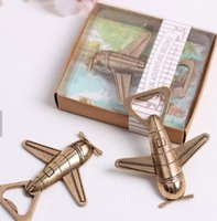 Wholesale multi helicopter for sale - Group buy Airplane Opener Helicopter Beer Bottle Openers Antique Alloy Plane Shape Bottle Opener Wedding Party Gift Kitchen Bar Tool GGA2521
