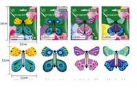 papier direct d'usine achat en gros de-Les petits jouets pour enfants de décompression créative HOTOY voleront en papier papillon usine de commerce extérieur directement puzzle nouvelle exotique