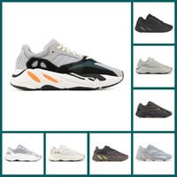 kanye west sneakers zum verkauf großhandel-Heißer Verkauf 700 Wave Runner Mauve Inertia Laufschuhe Kanye West Designer Schuhe Static Geode Vanta Analog Salt Sports Sneaker Größe 36-45