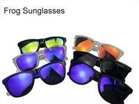 солнцезащитные очки лягушки оптовых-2018 новая мода поляризованные солнцезащитные очки лягушка солнцезащитные очки TR90 UV400 объектив спортивные солнцезащитные очки Мода очки Eyewea хорошее качество