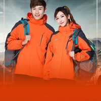 Wholesale winter outdoor jackets for women for sale - Group buy New Winter Hiking Jackets For Men Women Lover Outdoor Trekking Softshell Fleece Thermal Warm Mountain Coat Motorcycle Outerwear