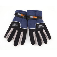 Wholesale windstopper gloves warm for sale - Group buy OUTAD winter sport windstopper ski gloves warm riding Motorcycle gloves Outdoor Full Finger Windproof luva Top Selling
