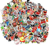 Wholesale cars for sale - Group buy Cool Sticker Random Music Film Vinyl Skateboard Guitar Travel Case Sticker Door Laptop Luggage Car Bike Bicycle Stickers