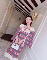 gewebter anzug großhandel-Europa Station Brief Anzug Pullover Koji Jacquard Weave Long Sleeves Designer Luxus Head Set Strickblusen
