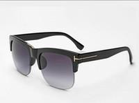Wholesale half frame square glasses for sale - Group buy 2018 luxury top qualtiy New Fashion TF16 Tom Sunglasses For Man Woman Erika Eyewear ford Designer Brand Sun Glasses with original box