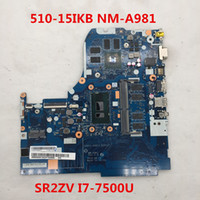 Wholesale High quality For IKB IKB Laptop motherboard CG413 CG513 CZ513 NM A981 With SR2ZV I7 U CPU full Tested