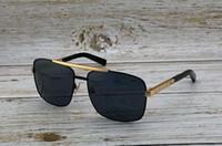 óculos quadrados vintage pretos venda por atacado-Ouro Preto Attitude Square Óculos De Sol 0260 Vintage Óculos De Sol Dos Homens Designer de Óculos De Sol UV400 lens Novo com Caixa
