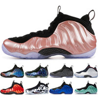 Wholesale foam rubber mesh resale online - Alternate Galaxy Olympic Penny Hardaway Habanero Red Colorful Mens Basketball Shoes foams one men sports sneakers designer size
