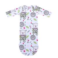 78ffc0b39 Newborn Floral Sleeping Bags Baby Blanket Outfit Kids Petal Sheep Tree  Printed Gown Headband Girl Boy Long Sleeves 43