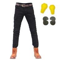 sujidade jeans venda por atacado-Homens Motocicleta Calças Protetor Calças Moto Verão Motocicleta Jeans Motocross Riding Racing Motocicleta Dirt Bike Calças