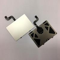 кабель трекпада оптовых-Оригинальный 98% новый тачпад A1398 для Macbook Pro Retina 15 дюймов 2013 2014год сенсорная панель трекпада с проверенным кабелем Идеальная работа
