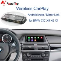 Wholesale Wireless CarPlay Interface for BMW CIC System X5 E70 X6 E71 Car X1 E84 with Android Auto Mirror Link AirPlay