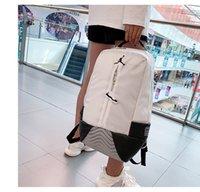 Wholesale outdoor shoulder backpacks resale online - 19SS Hot Sale Brand Men Sport Backpack Shoulder Bag outdoor High Quality Hot Sale Casual Bags Polyester Black B103902Y