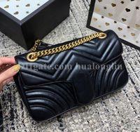 Wholesale red envelopes for sale - Group buy Women Bag Date Code Genuine Leather Handbag Purse shoulder cross body messenger bag