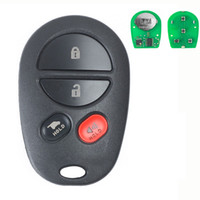 Wholesale remotes for toyota for sale - Group buy 3 Buttons Replacement Remote Key Fob MHz for Toyota Sienna FCC ID GQ43VT20T