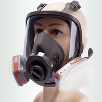 Wholesale full face spray mask for sale - Group buy 6800 Full Face piece Gas Mask Respirator filters Chemical Industrial Protective Spraying Paint Weld Lab Dust proof Replace
