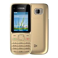 ingrosso telecamera cellulare gsm-Rinnovato Nokia C2-01 sbloccato telefono cellulare 2.0 pollici dello schermo WCDMA originale 3.2MP fotocamera Bar 2G GSM 3G