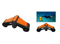 Wholesale electric 45 online - Waterproof Electric Underwater Self propelled Diving Booster Up to minutes of operation only seconds to replace the battery