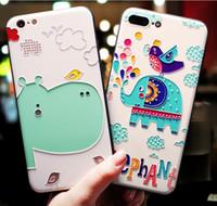 móvil de manzana coreano al por mayor-Apple Mobile Shell Silica Soft All-in-one Dibujos animados lindos japoneses y coreanos a prueba de caídas