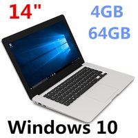 Wholesale china 14.1 intel laptop resale online - inch mini Laptop Computer Windows G RAM G ROM emmc Ultrabook Tablet Laptop Camera USB HDMI with Lowest Price XCTD