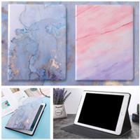 Wholesale waterproof hard case china resale online - Ultra Light Slim Marble Pattern Wake Up Sleep Smart Hard Case Cover For New iPad inch iPad Air Mini iPad