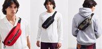 saco de compras do corpo transversal do nylon venda por atacado-Campeões marca fanny Pack Bordado carta Saco de Cintura de Lona Unisex Sacos de Corpo Cruz No Peito Saco de Viagem Compras Cintura sacos venda