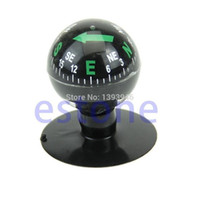 Wholesale backpacking boat resale online - U119 Mini Flexible Navigation Compass Ball Dashboard Suction Cup Car Boat Vehicle