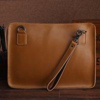ipad luft geschäftsfall großhandel-Die 2019 retro-wasserdichte Notebook-Office-Business-Tasche für MacBook Pro / Air-Taschen